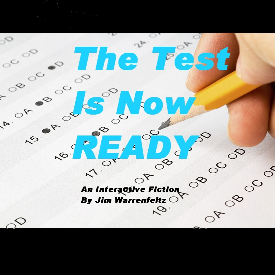 Cover art for The Test is Now READY