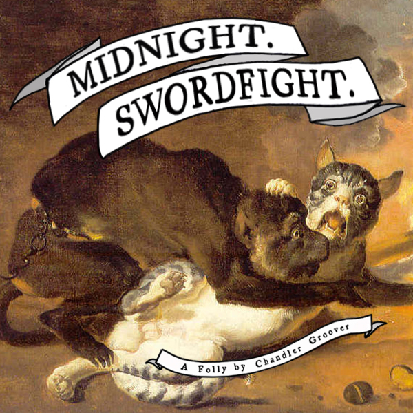 Cover art for Midnight. Swordfight.
