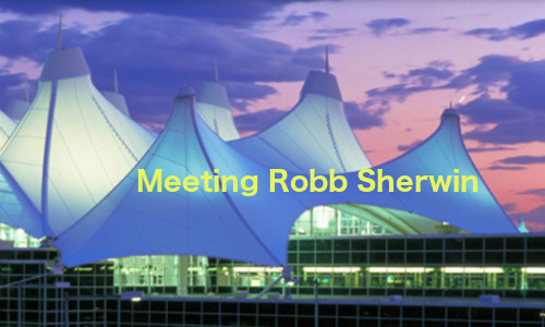 Cover art for Meeting Robb Sherwin