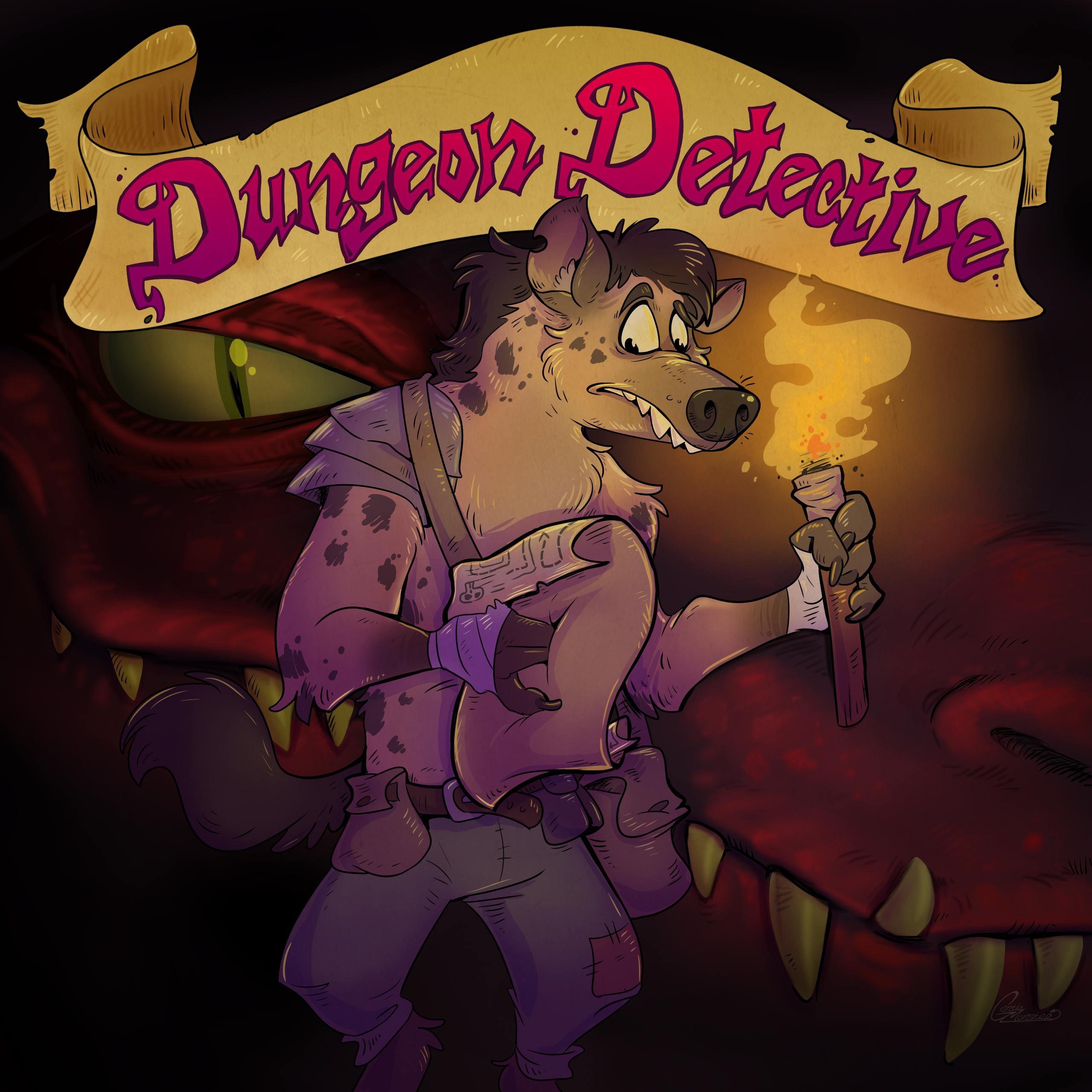Cover art for Dungeon Detective