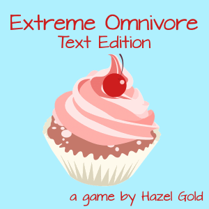 Cover art for Extreme Omnivore: Text Edition