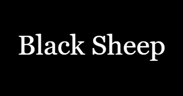 Cover art for Black Sheep