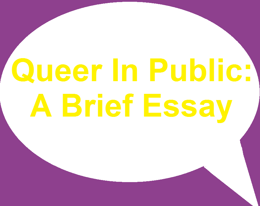 Cover art for Queer In Public: A Brief Essay