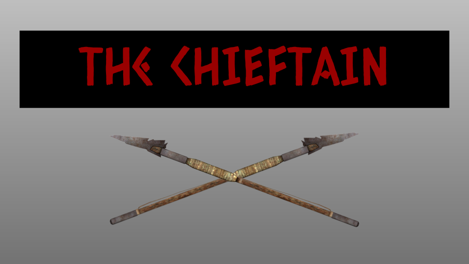 Cover art for The Chieftain