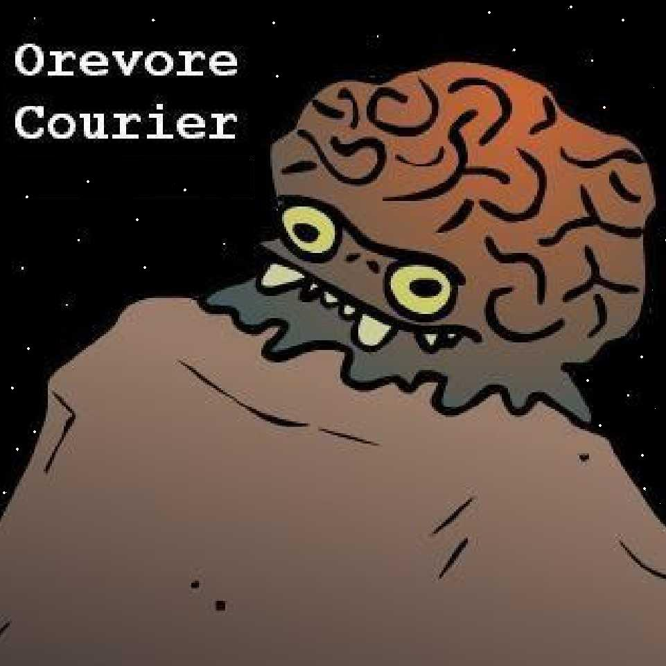 Cover art for Orevore Courier