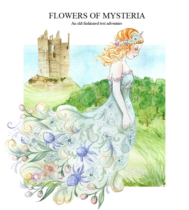 Cover art for Flowers of Mysteria
