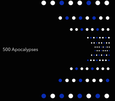 Cover art for 500 Apocalypses