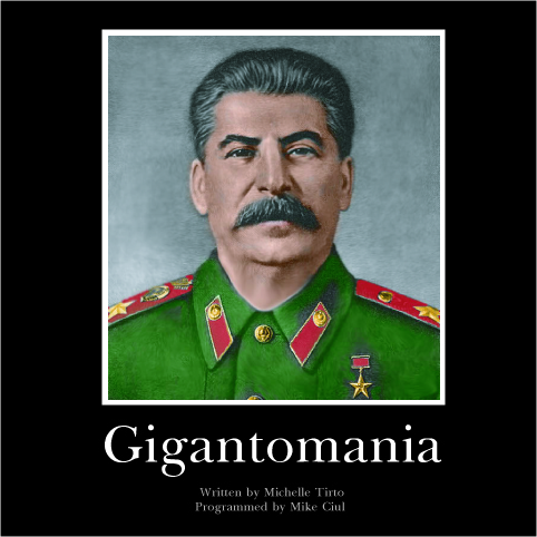 Cover art for Gigantomania