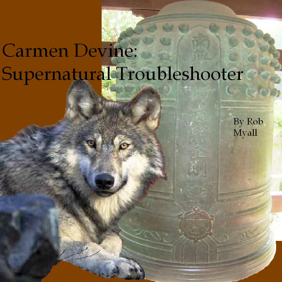 Cover art for Carmen Devine: Supernatural Troubleshooter