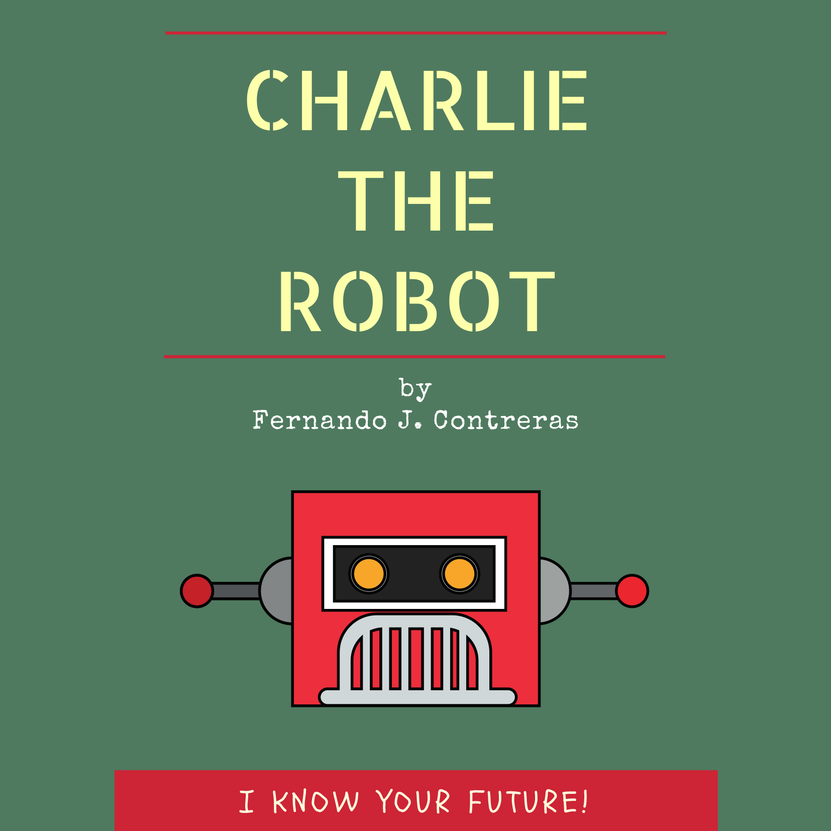 Cover art for Charlie The Robot