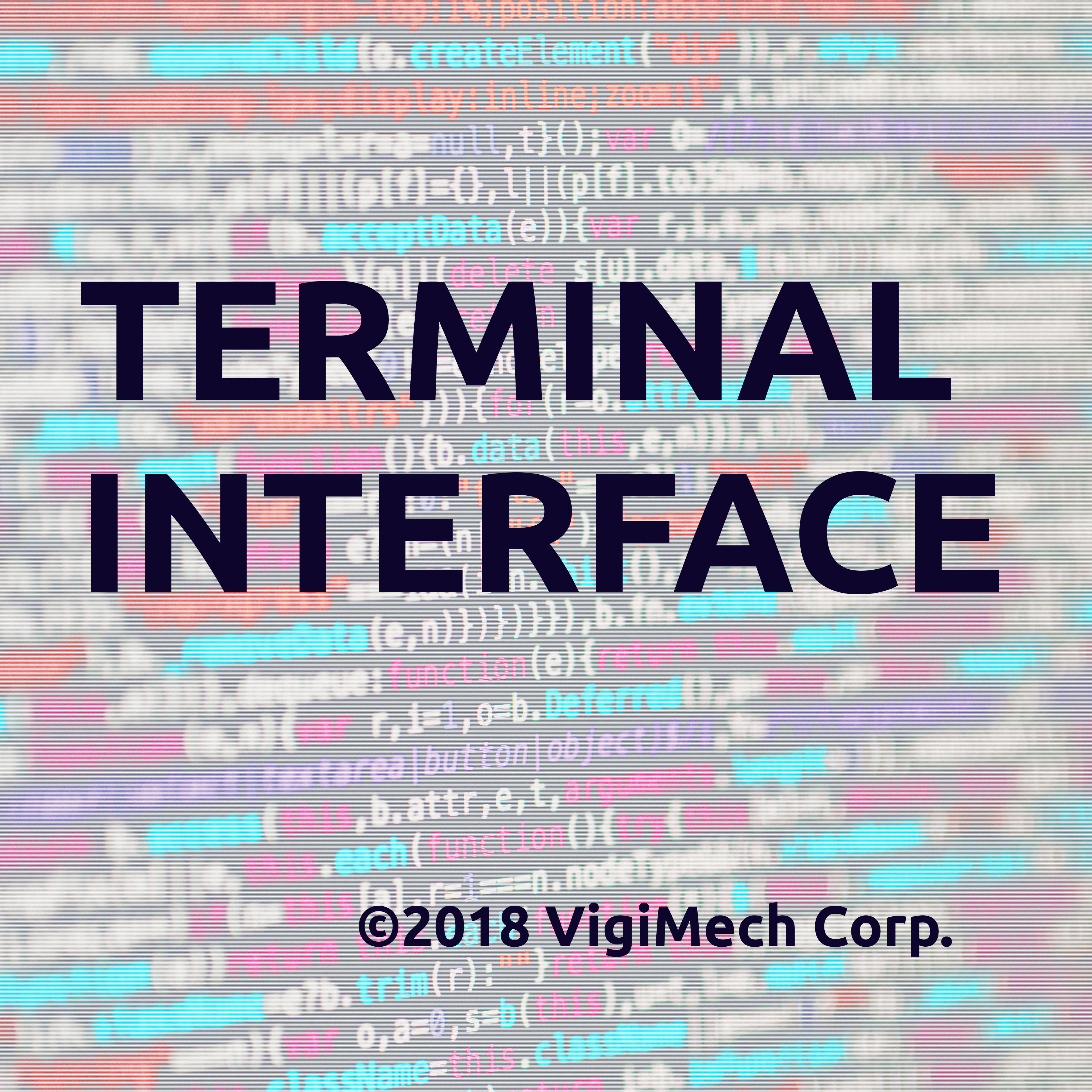 Cover art for Terminal Interface for Models RCM301-303