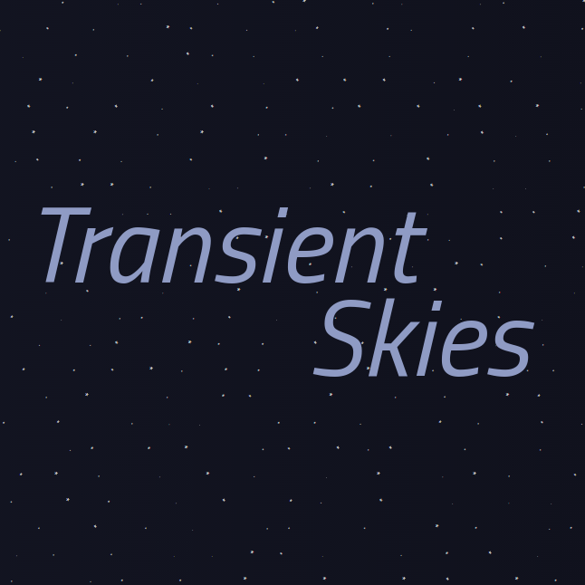 Cover art for Transient Skies