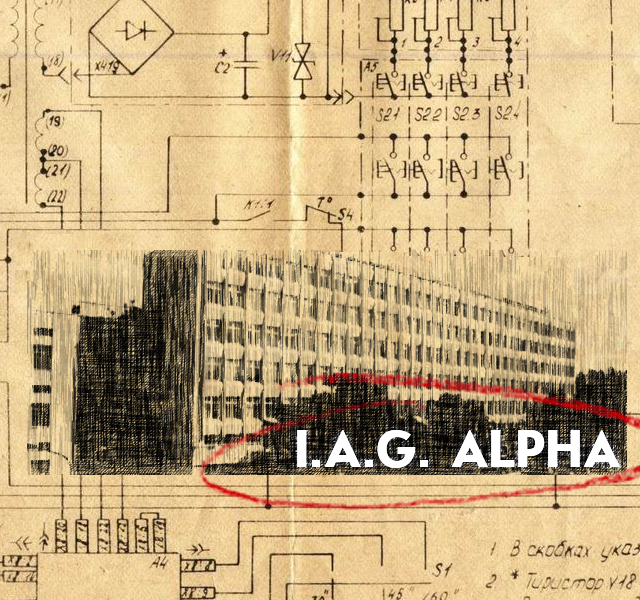 Cover art for I.A.G. Alpha