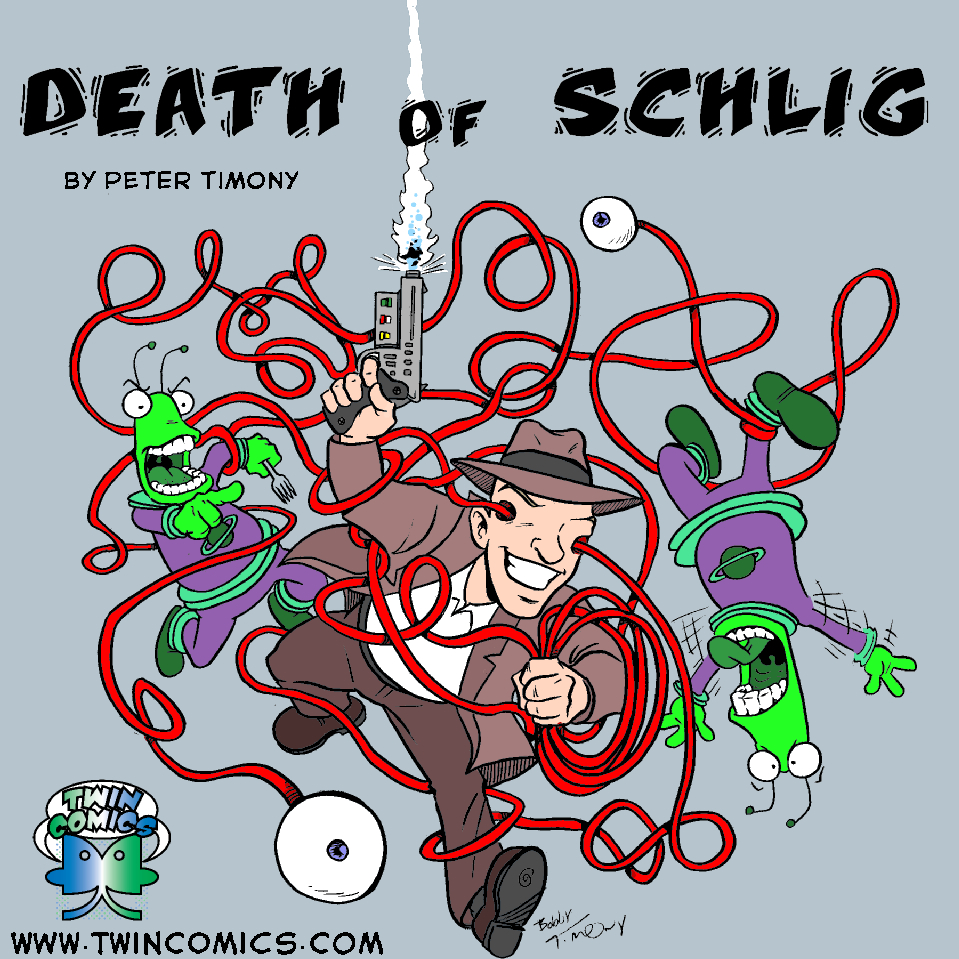 Cover art for Death of Schlig