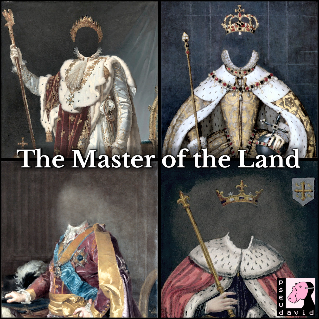 Cover art for The master of the land