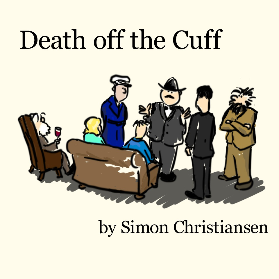 Cover art for Death off the Cuff