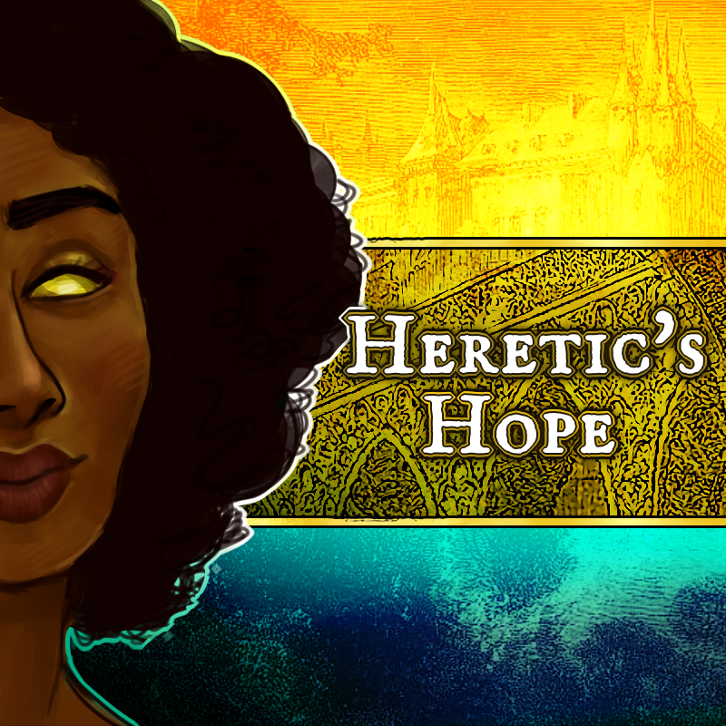 Cover art for Heretic's Hope
