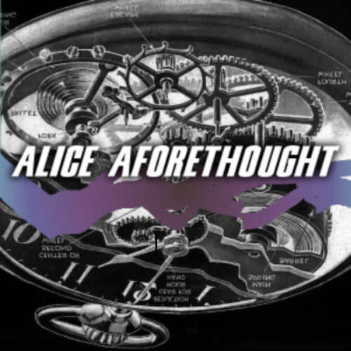 Cover art for Alice Aforethought