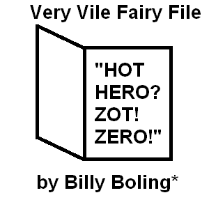 Cover art for Very Vile Fairy File