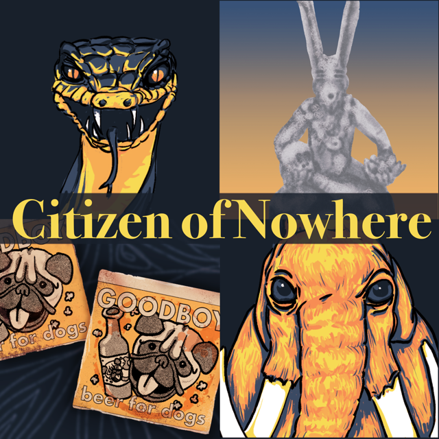 Cover art for Citizen of Nowhere