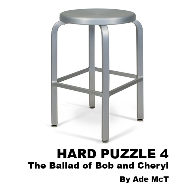 Cover art for Hard Puzzle 4 : The Ballad of Bob and Cheryl