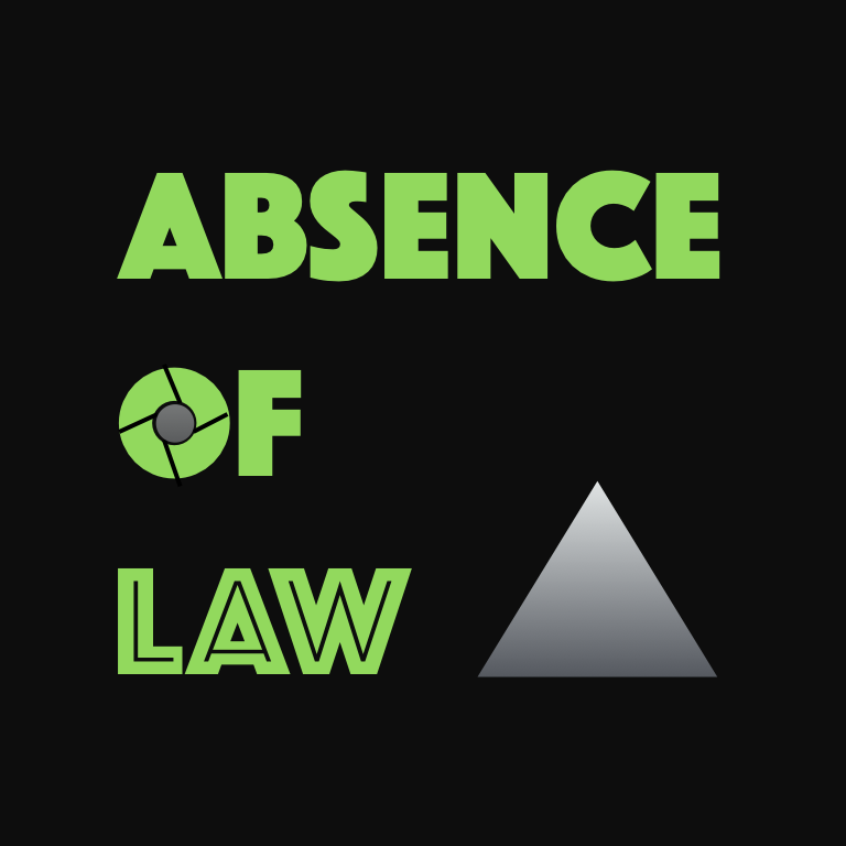 Cover art for Absence of Law