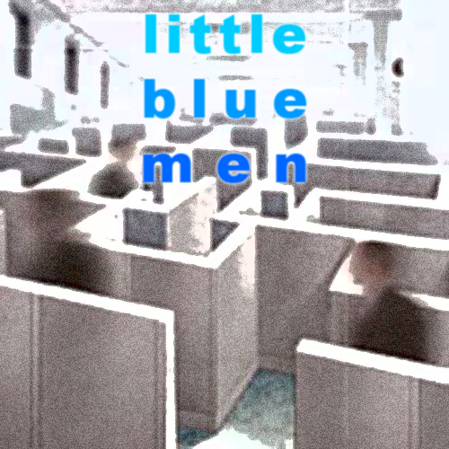 Cover art for Little Blue Men