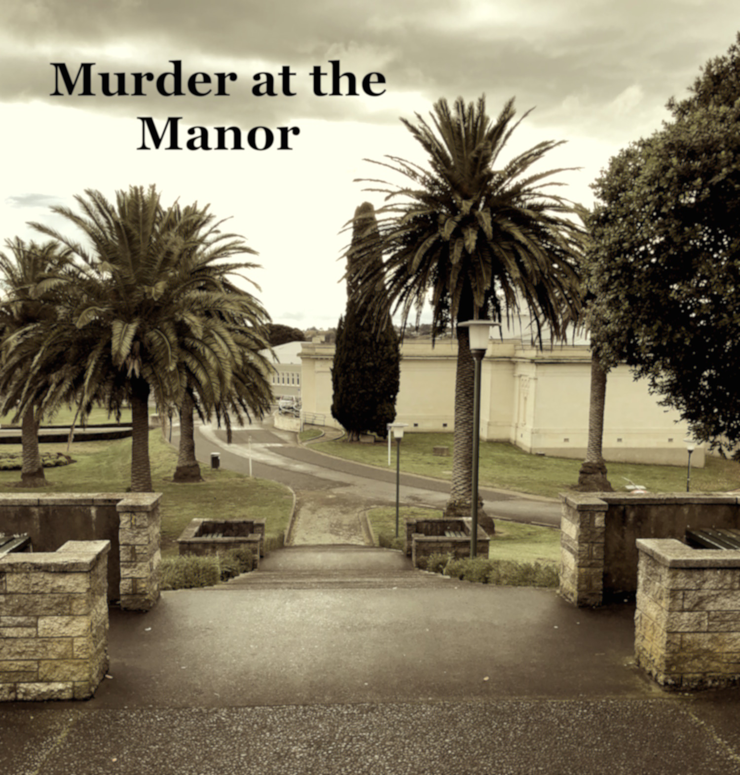 Cover art for Murder at the Manor