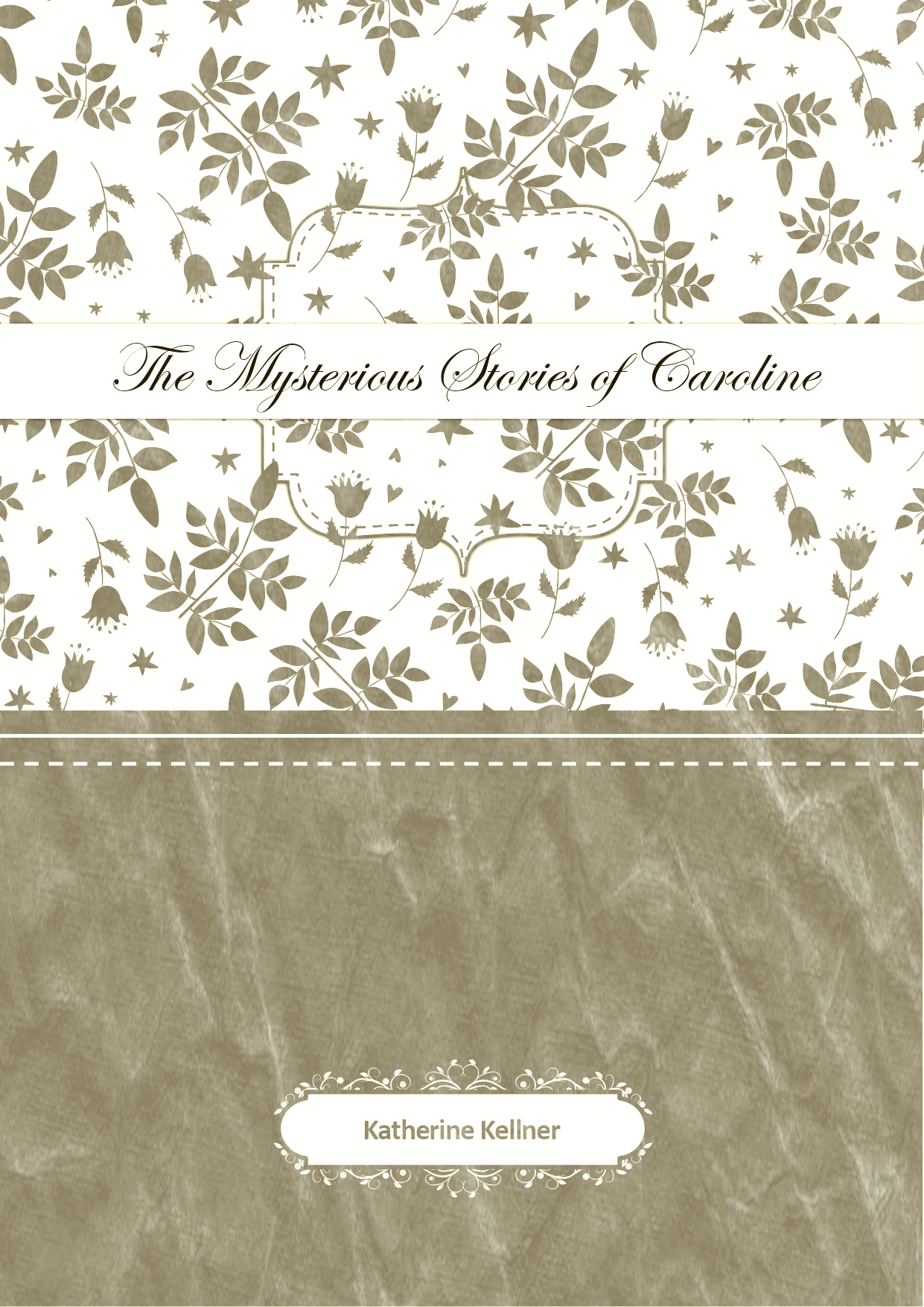 Cover art for The Mysterious Stories of Caroline
