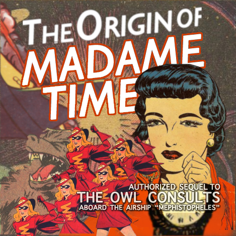 Cover art for The Origin of Madame Time
