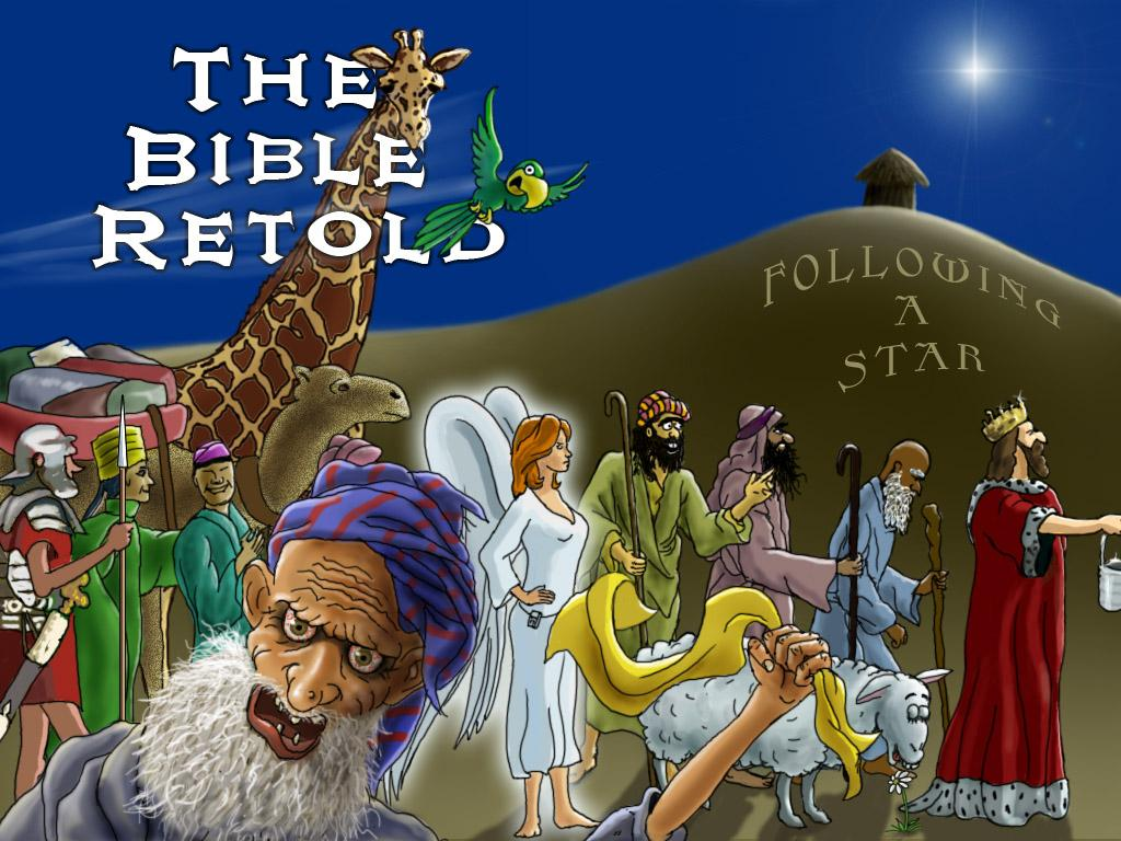 Cover art for The Bible Retold: Following a Star