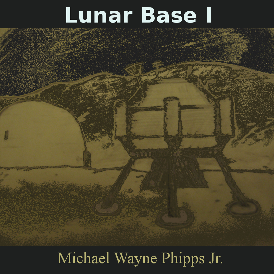 Cover art for Lunar Base 1