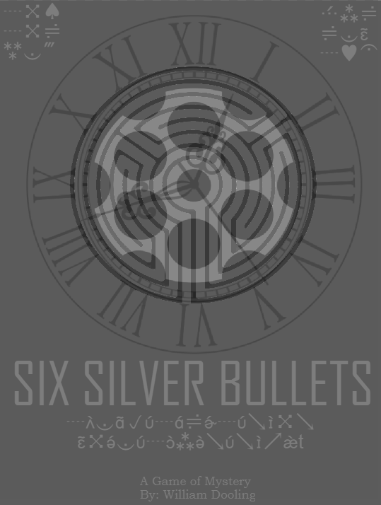 Cover art for Six Silver Bullets