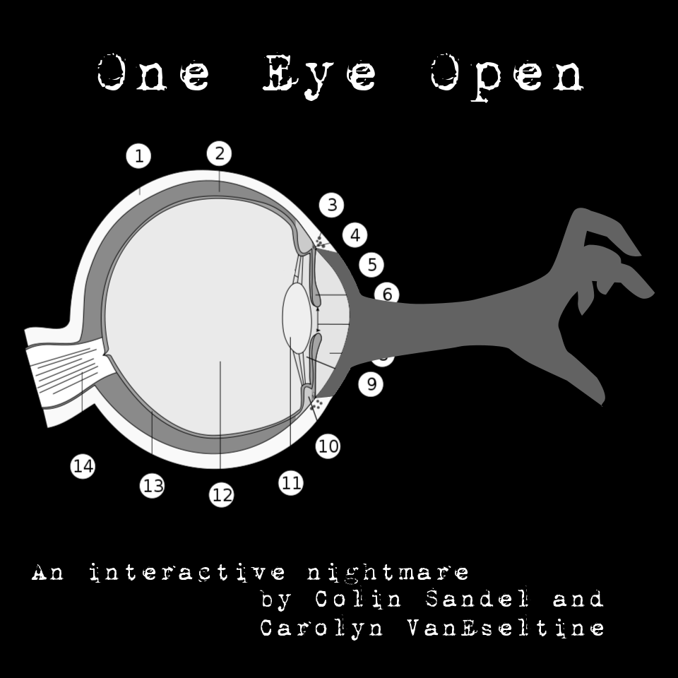 Cover art for One Eye Open