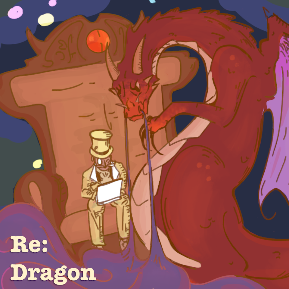 Cover art for Re: Dragon