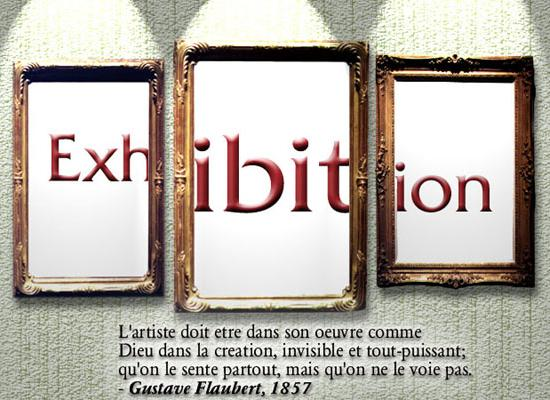 Cover art for Exhibition