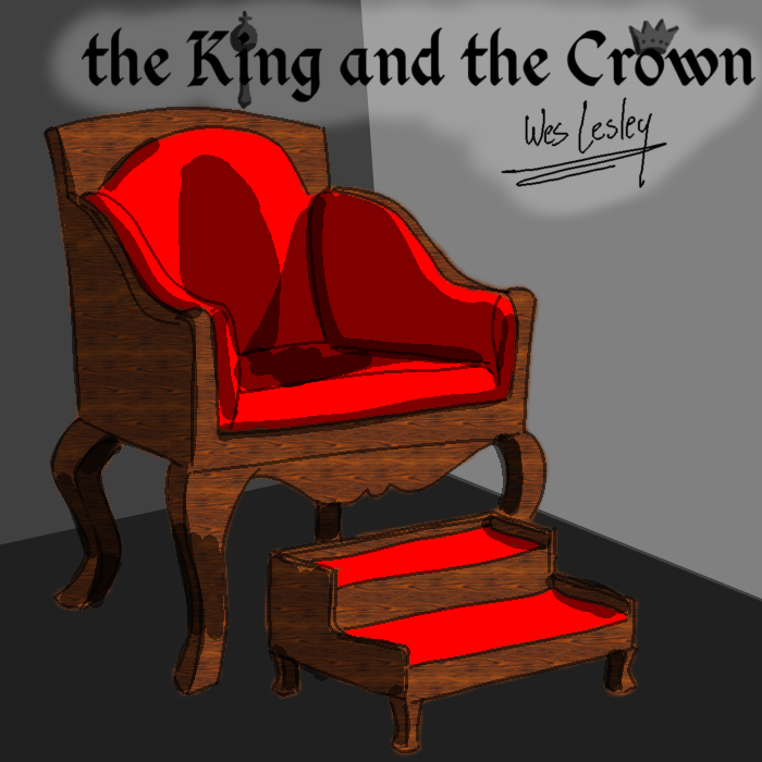 Cover art for The King and the Crown