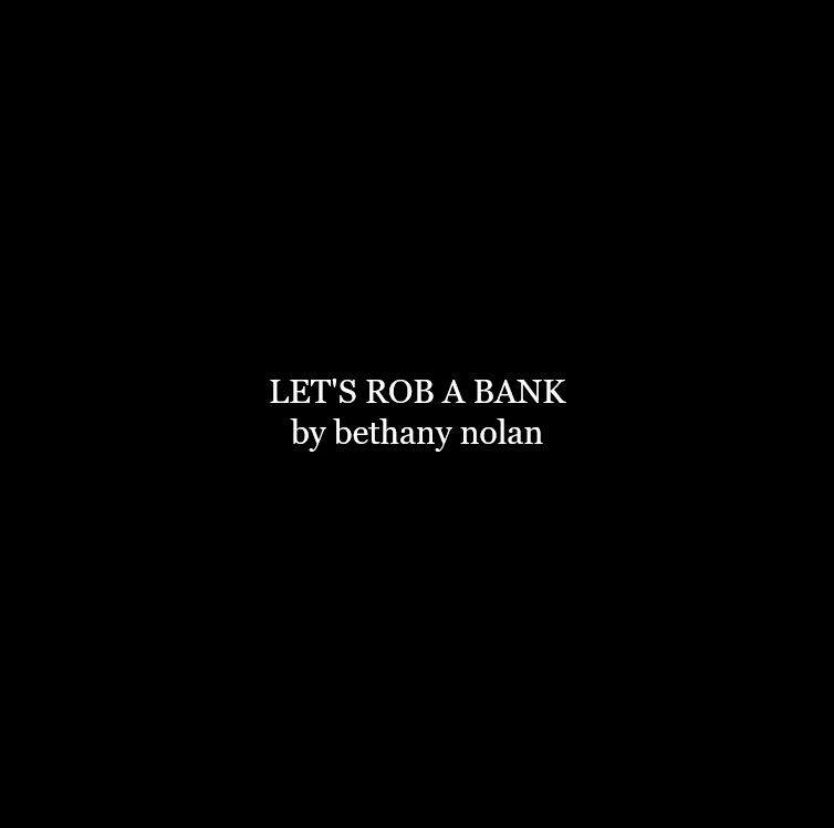 Cover art for LET'S ROB A BANK