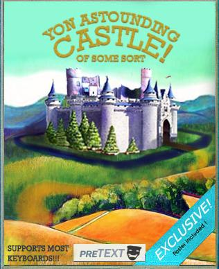 Cover art for Yon Astounding Castle! of some sort