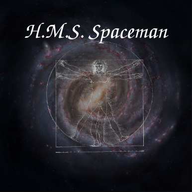 Cover art for H.M.S. Spaceman