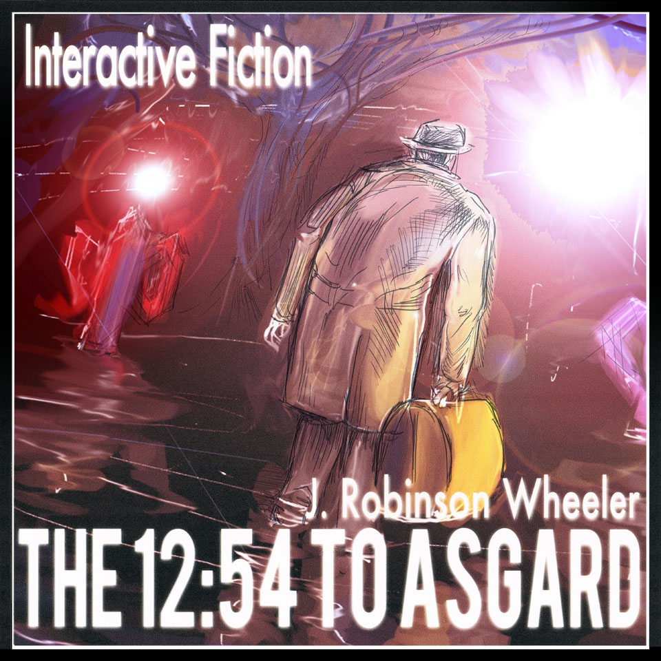 Cover art for The 12:54 to Asgard