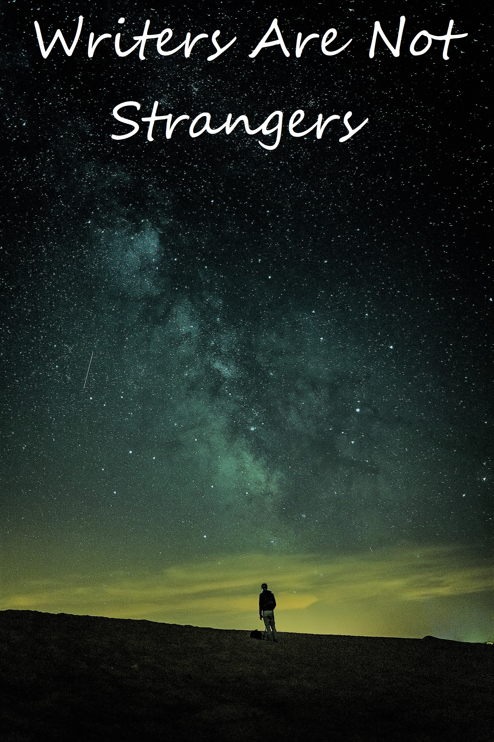 Cover art for Writers Are Not Strangers
